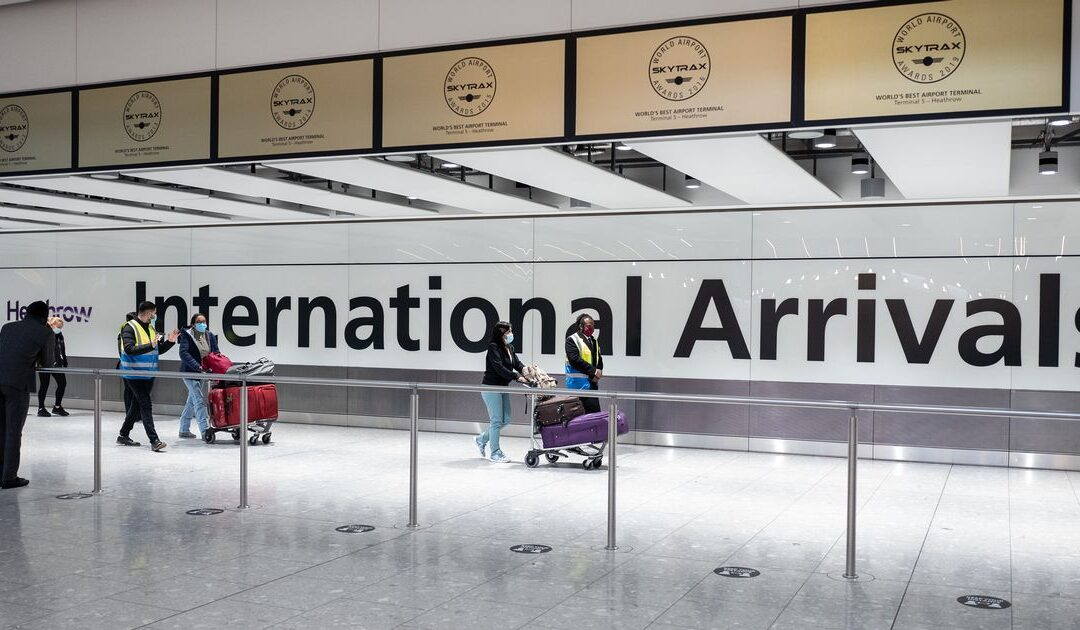 Heathrow and Gatwick travel updates: Countries set to be on the 'green' and 'red' list for holidays abroad ahead of May 17