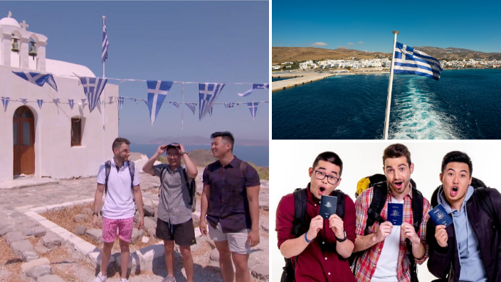 Greek Australian 'Travel Guides' star left speechless after visiting Greece for show's season premiere